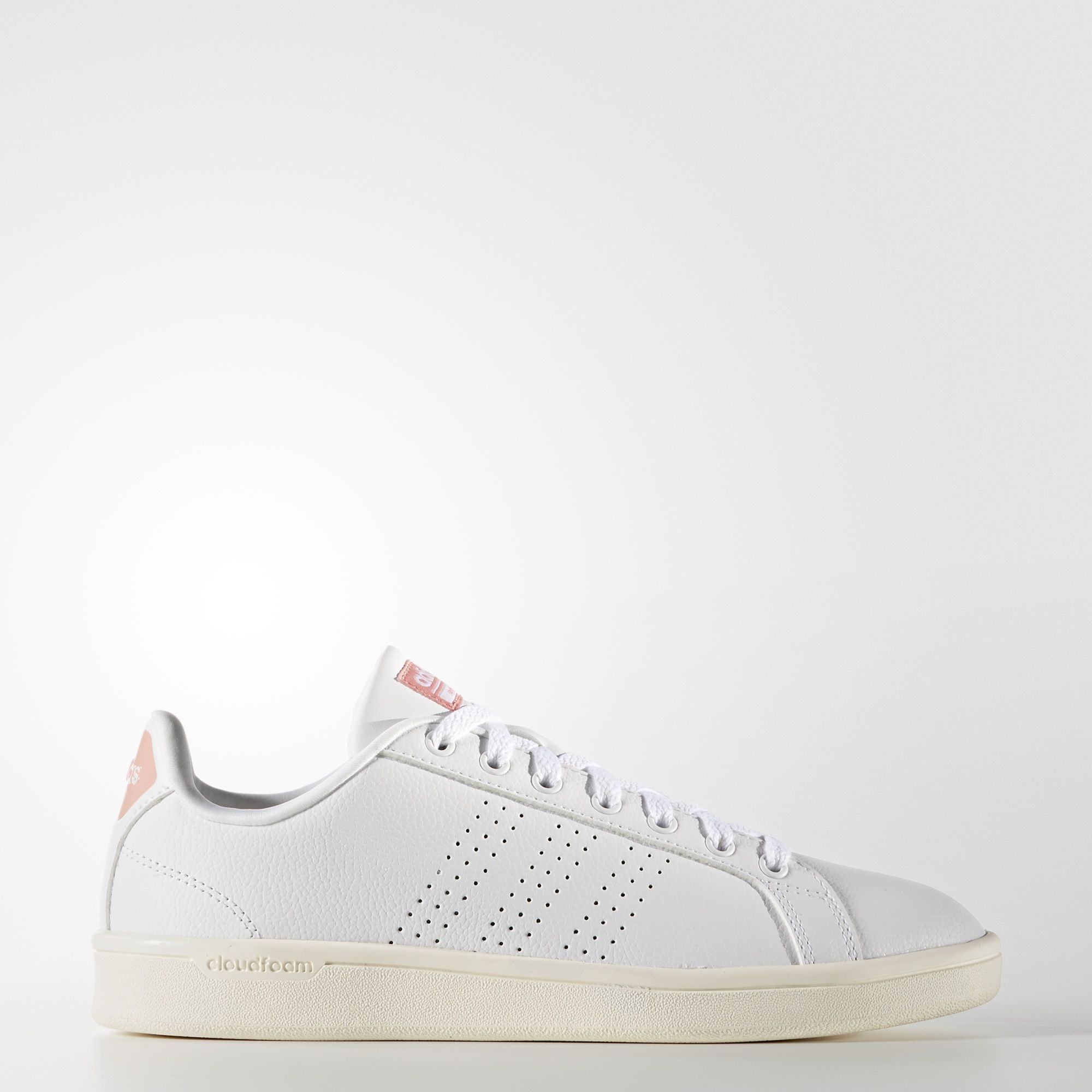 adidas - Cloudfoam Advantage Clean Shoes | Girls leather ...