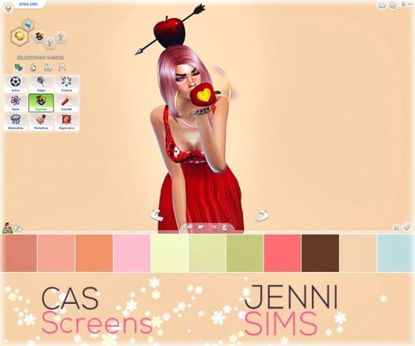 Jenni Sims Tropical Nights Cas Screens Sims 4 Downloads Sims 4 Cas Background Sims Sims 4