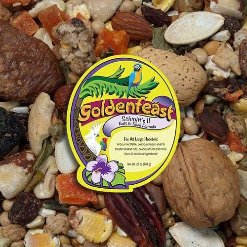 25 oz (709 g) Schmitt's II Nut's in Shell No Peanut Blend by Goldenfeast