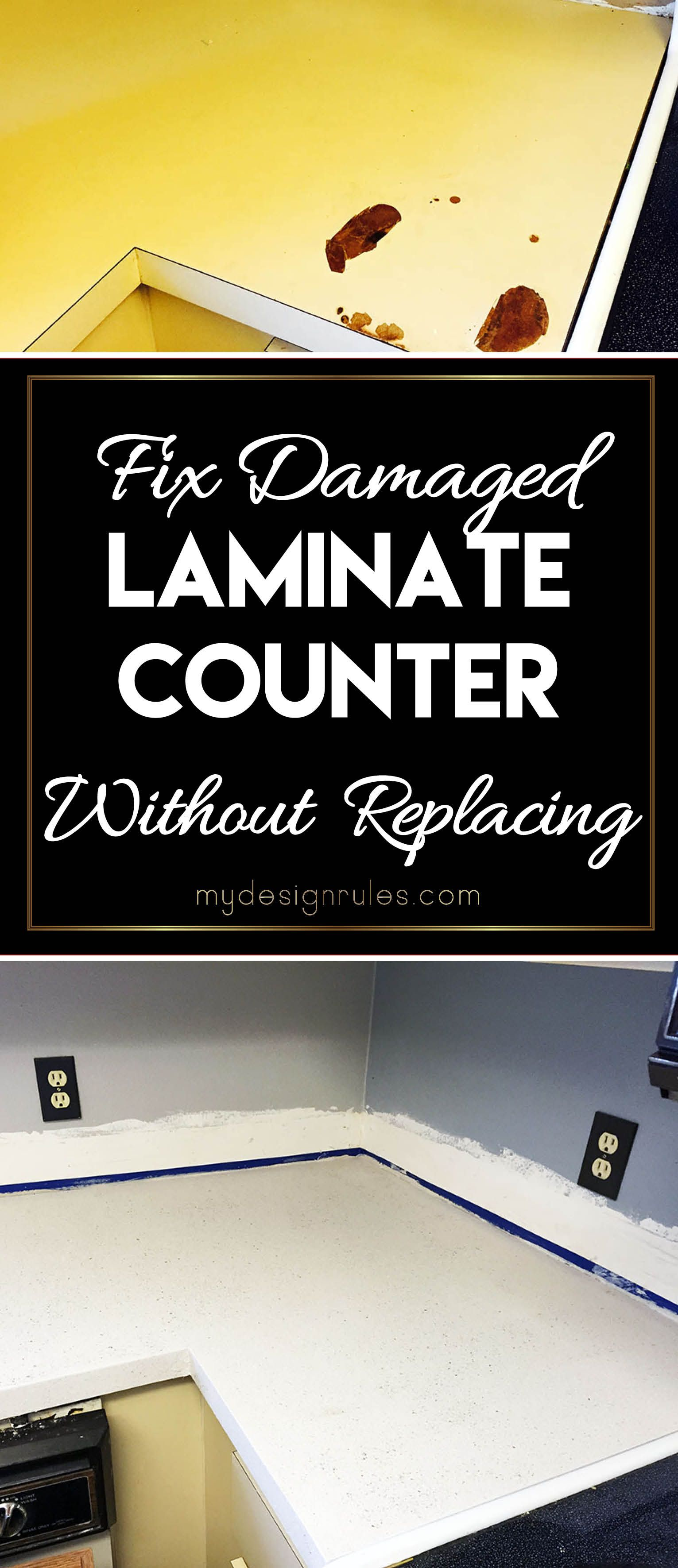 Fix Your Damaged Laminate Countertop Laminate Countertops