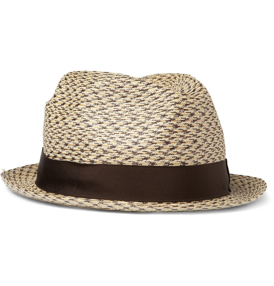 2e7a2f1ea45 Lock   Co Hatters Straw Trilby Hat