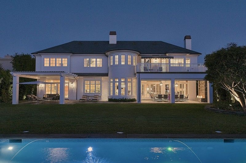 A Look Inside Lebron James New 21m L A Home Celebrity Houses