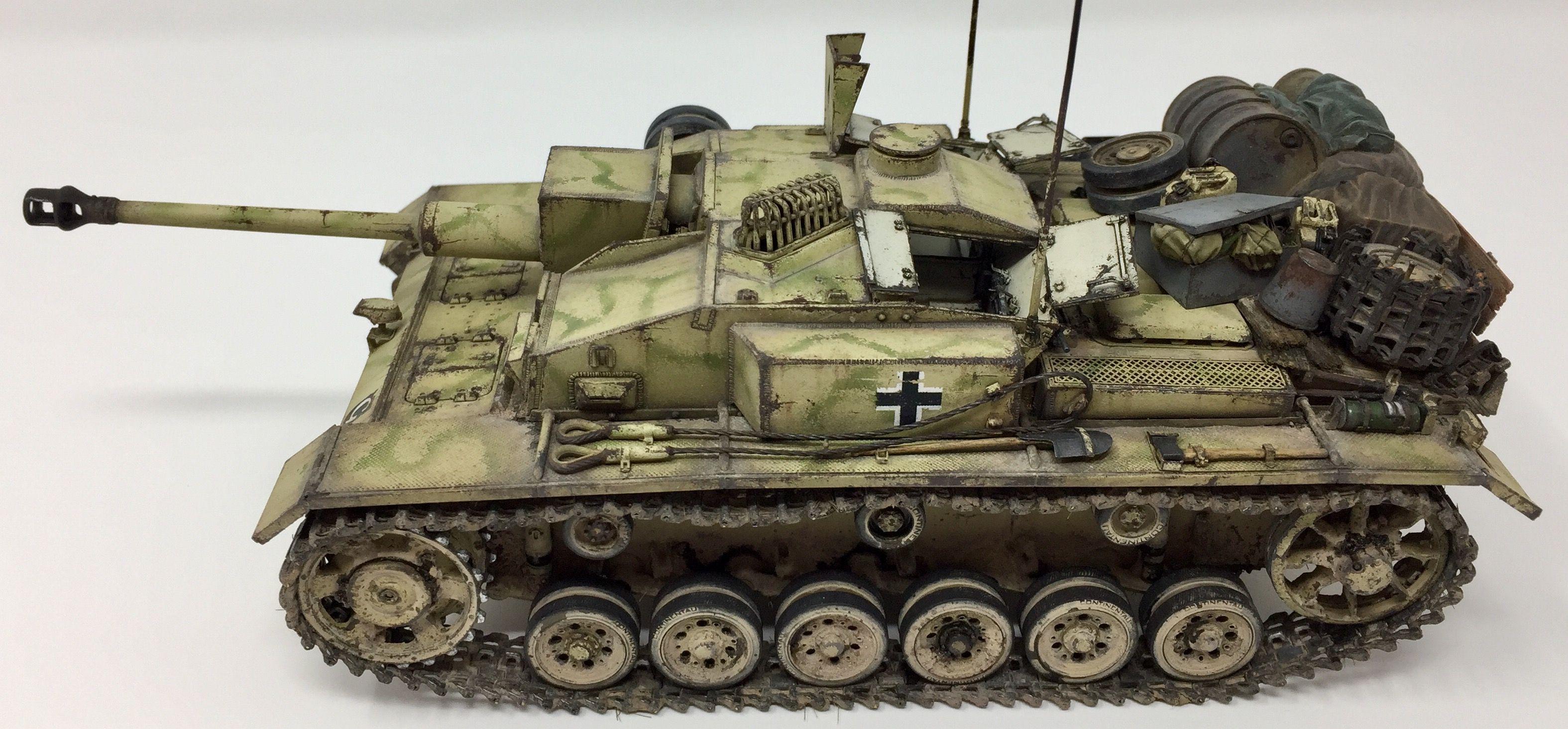 1/35 Scale  #Stug III Ausf F/8 from summer of 1943  Battle