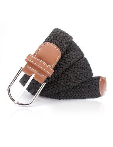 MinYuocom PD11 Series Elástico Tela tejida Estirar - Trenzada Cinturón para hombre AMPD10110-95