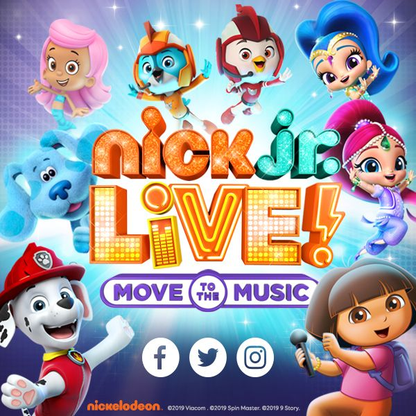 Get A Sneak Peek Of The Upcoming Nick Jr. Live! Show