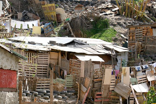 Tijuana Houses Slums Tijuana Mexico