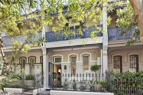 Terrace houses paddington sydney google search for Terrace color combination