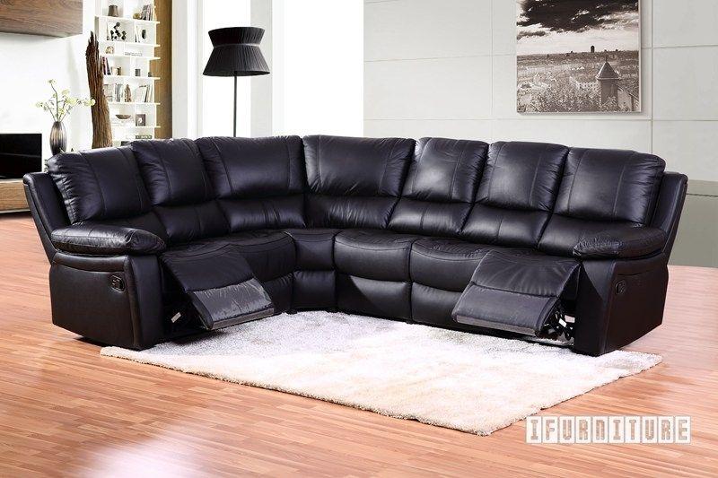 San Go Corner Reclining Sofa Genuine Leather Ifurniture Furniture 2 0 Edmonton