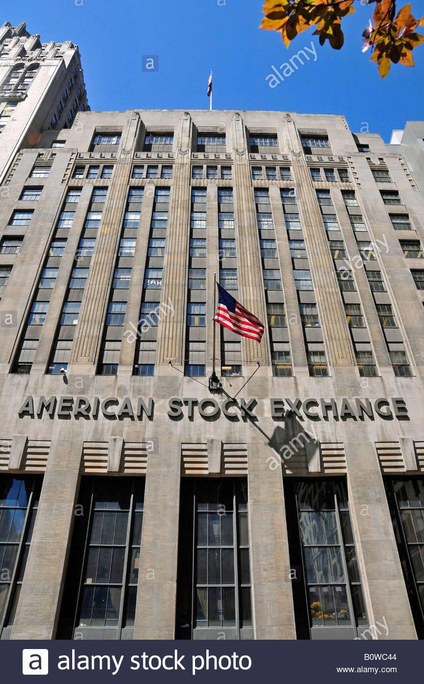 Former American Stock Exchange Building Manhatten Nyc