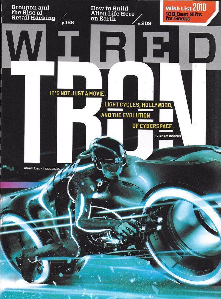 Wired magazine Tron Groupon Retail hacking Alien life build Insane ...