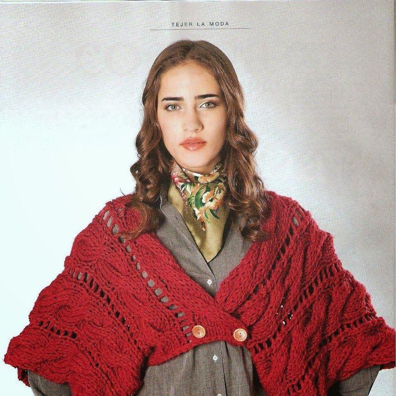 Patrones Crochet: Bolero mangas japonesas Patron | Chales, mañanitas ...