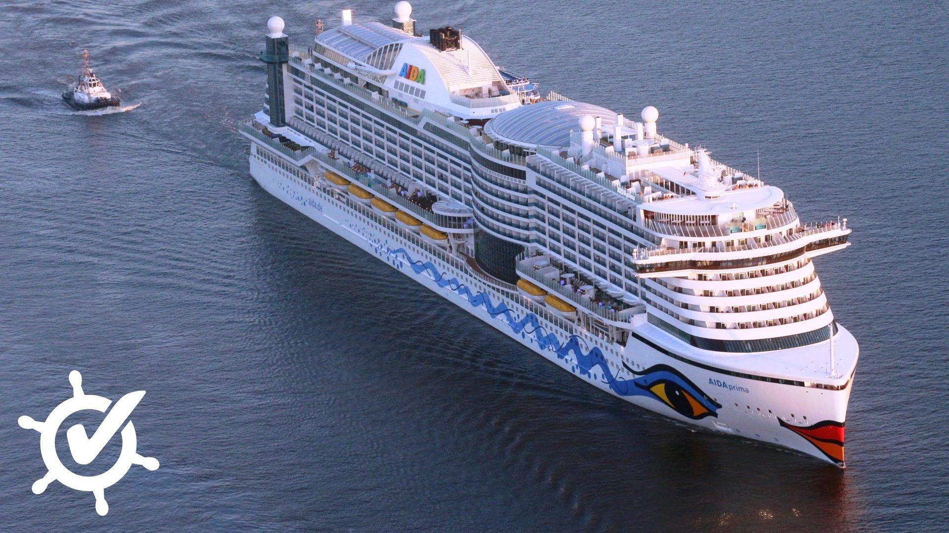 AIDAprima: Live-Rundgang | Cruise reviews, Cruise, Southampton