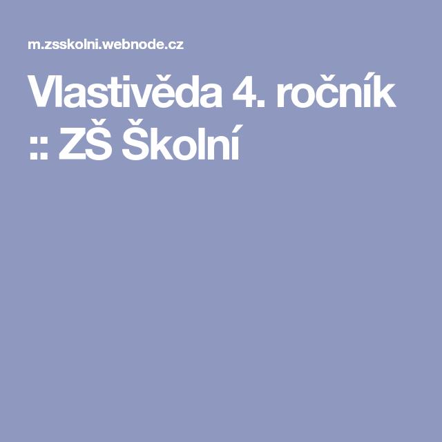 Vlastiveda 4 Rocnik Zs Skolni Lockscreen Screenshot Lockscreen Screenshots