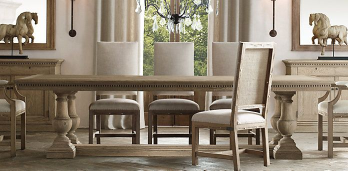 St James Dining Table Restoration Hardware Another Great