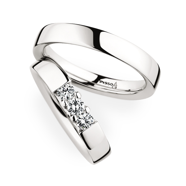 christian bauer gorgeous platinum wedding bands with diamonds for her 280001 243608 - Platinum Wedding Rings For Her