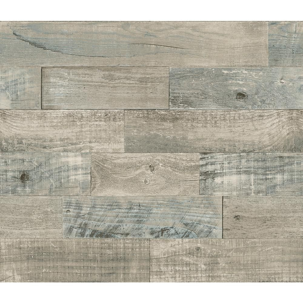 Brewster Beige Coastal Wood Wall Applique Peel And Stick Backsplash In 2021 Peel Stick Backsplash Peel N Stick Backsplash Vinyl Backsplash