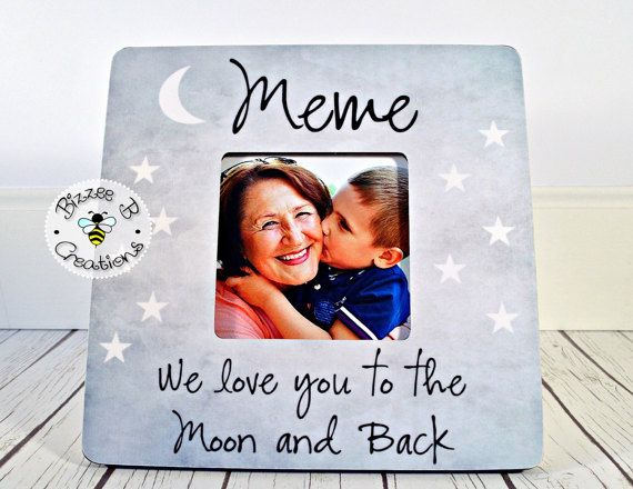 Custom Picture Frame For Meme Mimi Gift For Grandma We Love You To