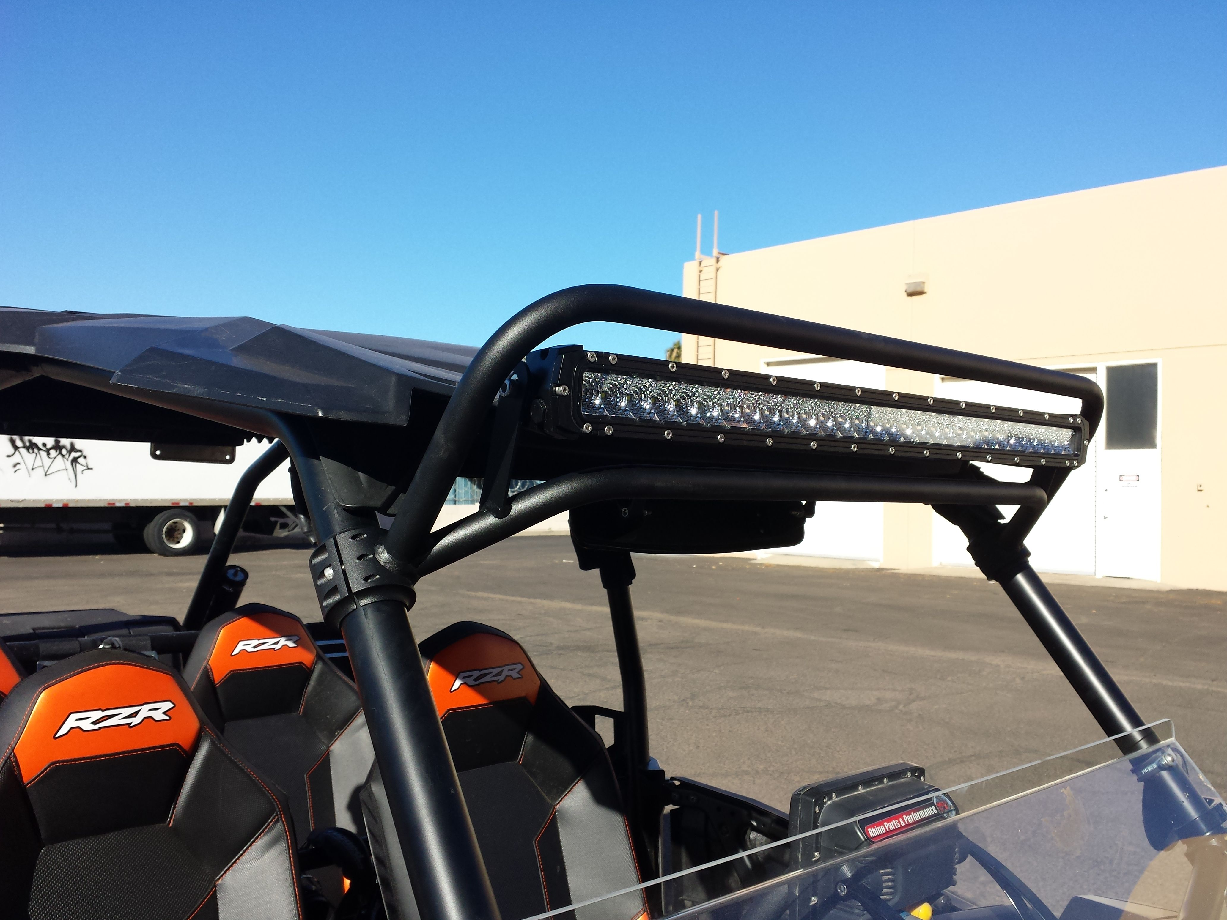 aa2b297c64ca883d4618677299fa7abc polaris rzr xp 1000 xp1k 5 watt led light bar and mount 14,400 Wire Harness Clips at alyssarenee.co