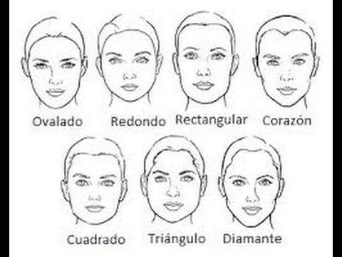 Identifica Tu Tipo De Rostro Tipo De Rostros Tipos De Rostro Mujer Formas De Cara Mujer