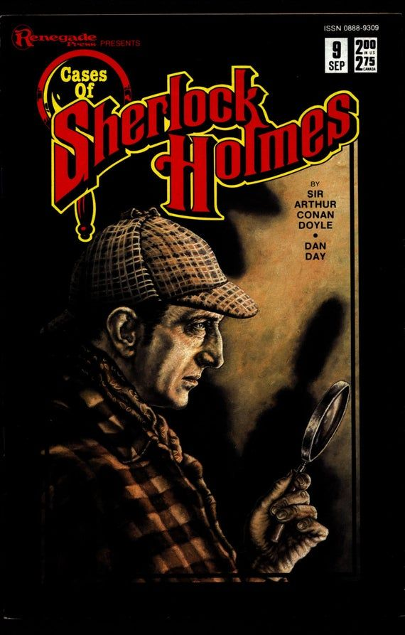 Cases of SHERLOCK HOLMES #9 Sir Arthur Conan Doyle Dan Day The Adventure of the Copper Beeches Dr. W