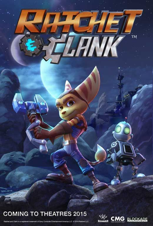 Ratchet Clank 2016 11x17 Movie Poster Animated Movies Ratchet Movie Posters