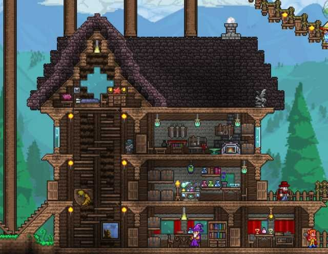 Don T Talk To Me My Son My Pets My Other Son In Disguise My Mount Or My Cannon Ever Again Terrarium Base Terraria House Ideas Terraria House Design