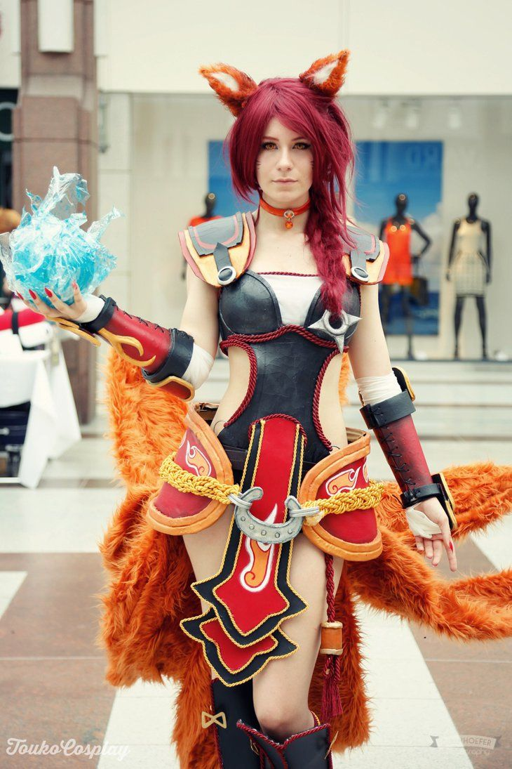 Foxfire Ahri Cosplay - Hallshot by xTouko on DeviantArt