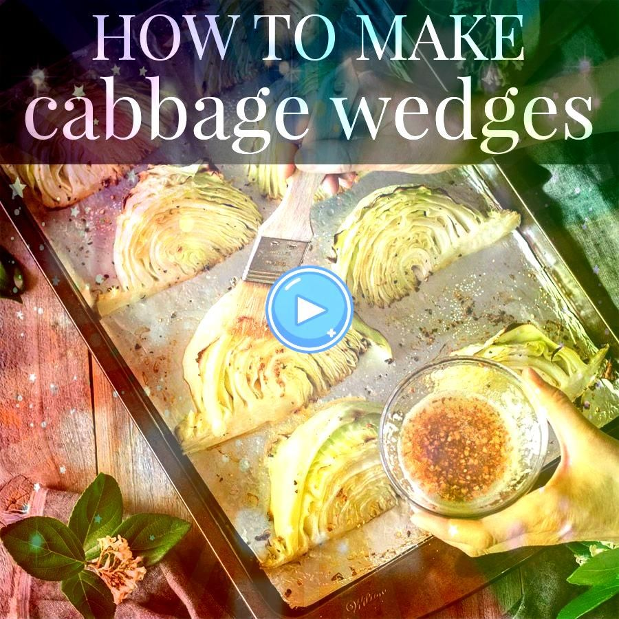 to Make Roasted Cabbage Wedges Roasted cabbage wedges are an easy healthy side dish you can serve for a low carb dinner Simply use fresh green cabbage garlic lemon and bu...