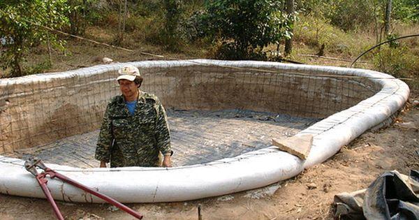 Liked on Pinterest: (Earthbag Water Cistern) - Earthbag Cisterns - http://ift.tt/1anotI3