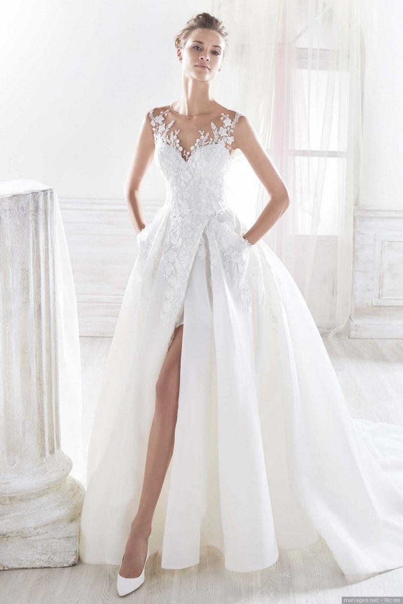 Robes de mariée Nicole 2018 pour les fées