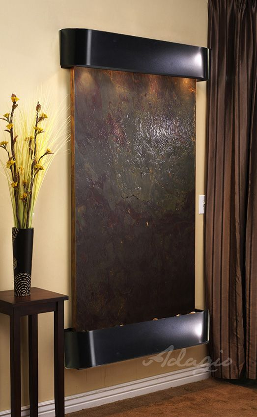 An Indoor Waterfall For The Home And Radiates Elegance. Did You Know  Installing A Decorative