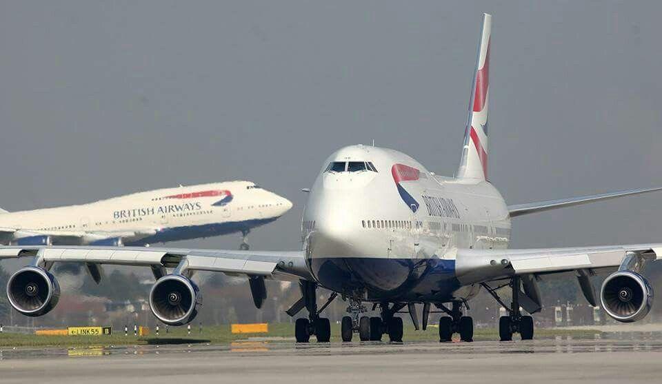 Pin by Paris Hayes on Aviation  | British airways 747
