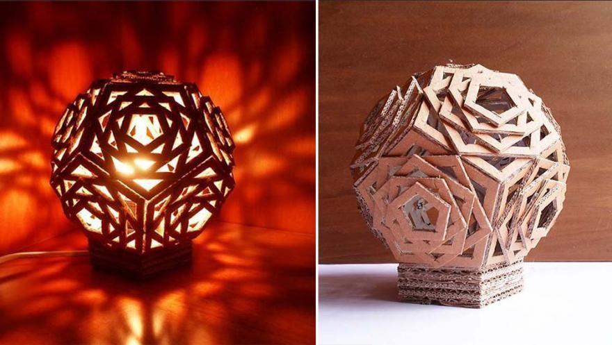 20 lampes DIY à fabriquer | Diaporama Photo