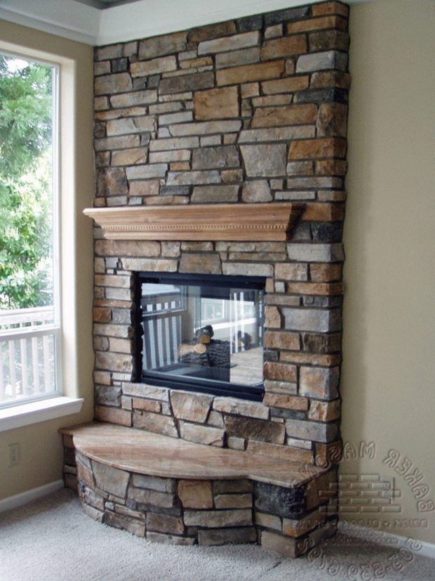 Design Cultured Stone Fireplace Fireplace Tv Stand Lowes