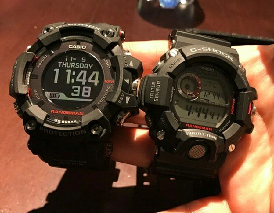 G-Shock Rangeman GPR-B1000-1 with GPS and and Low-Temp LCD  9192cc2c421e