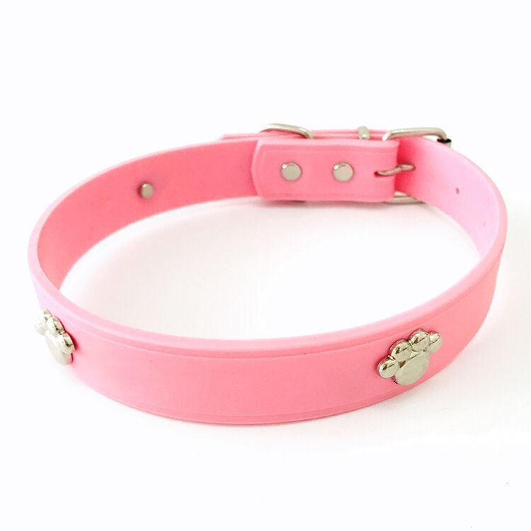 Online Shop Pet Products Dog Collar Cat Collar Pet Soft Rubber Collar 6 Colors Silicone Collar Multicolor Optional C Cat Collars Dog Collar Online Pet Supplies