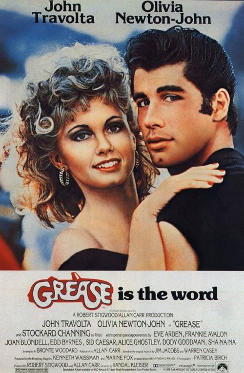 Grease Edible Birthday Cake Topper Or Cupcake Topper Decor Grease Movie Streaming Movies Hd Movies