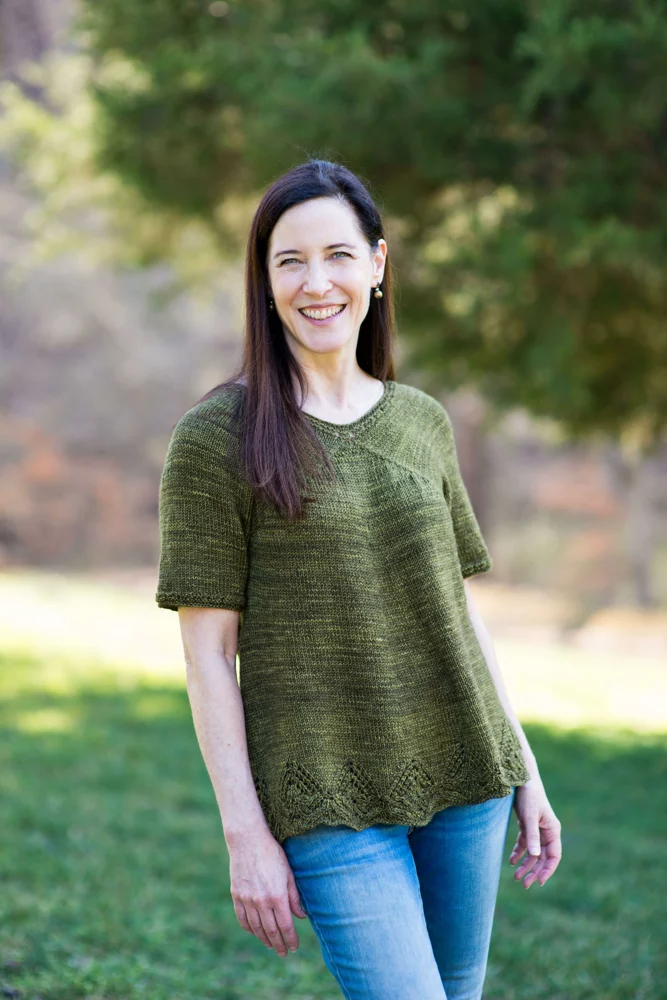 Photo of Clara #Häkeln Sie Blusen Pullover Clara Knitting pattern by Jennifer Wood – Hä…