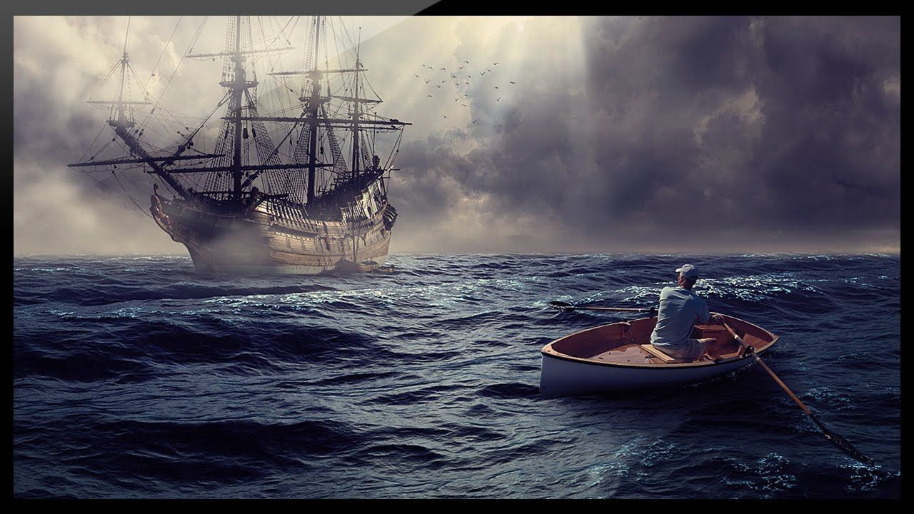 Photoshop compositing tutorial photo manipulation ghost ship photoshop compositing tutorial photo manipulation ghost ship baditri Gallery