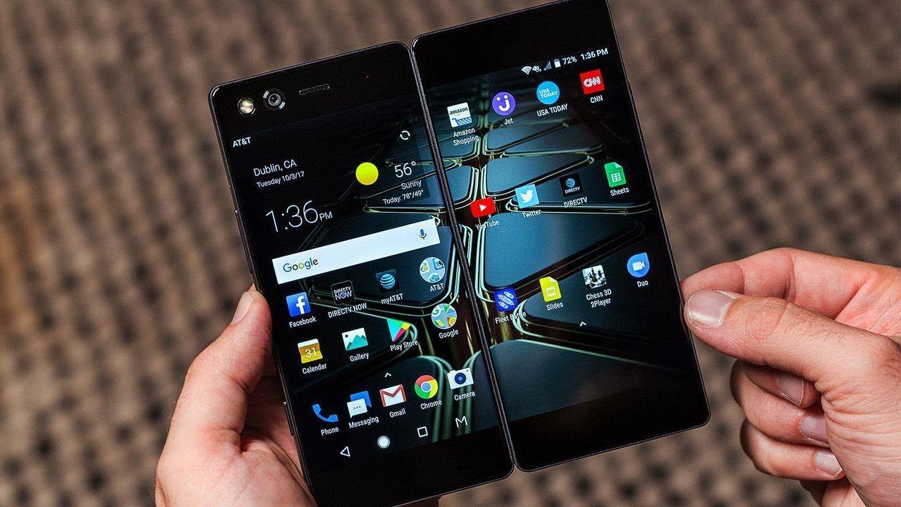 Zte Axon M Dual Screen Phone First Look Phone Smartphone