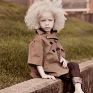 albino afro