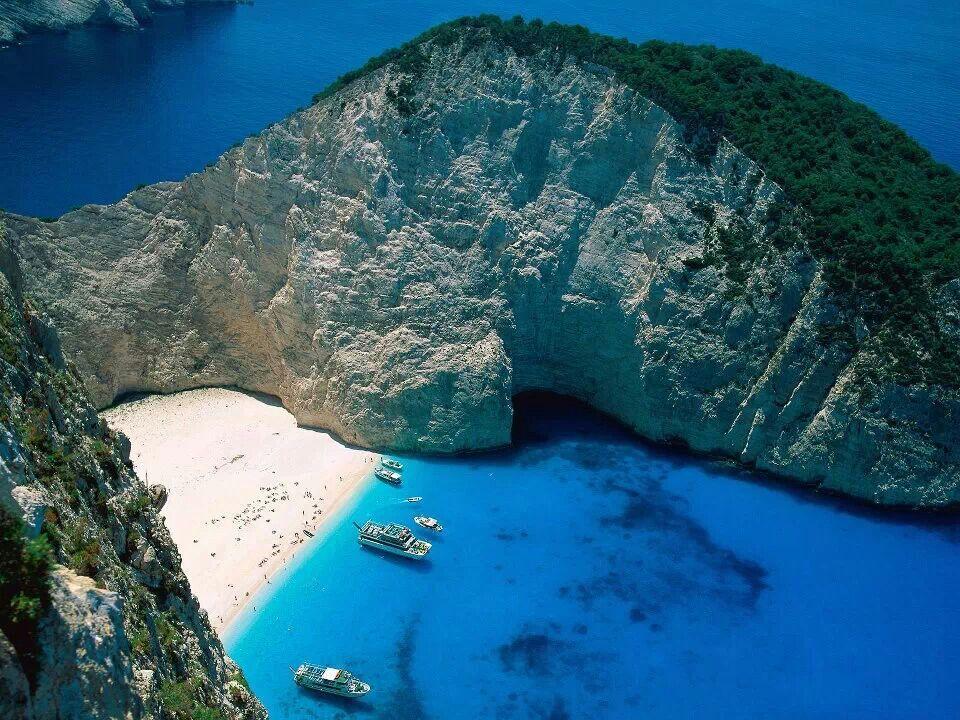 Zakinthos Ionian Islands in Greece! Gorgeous