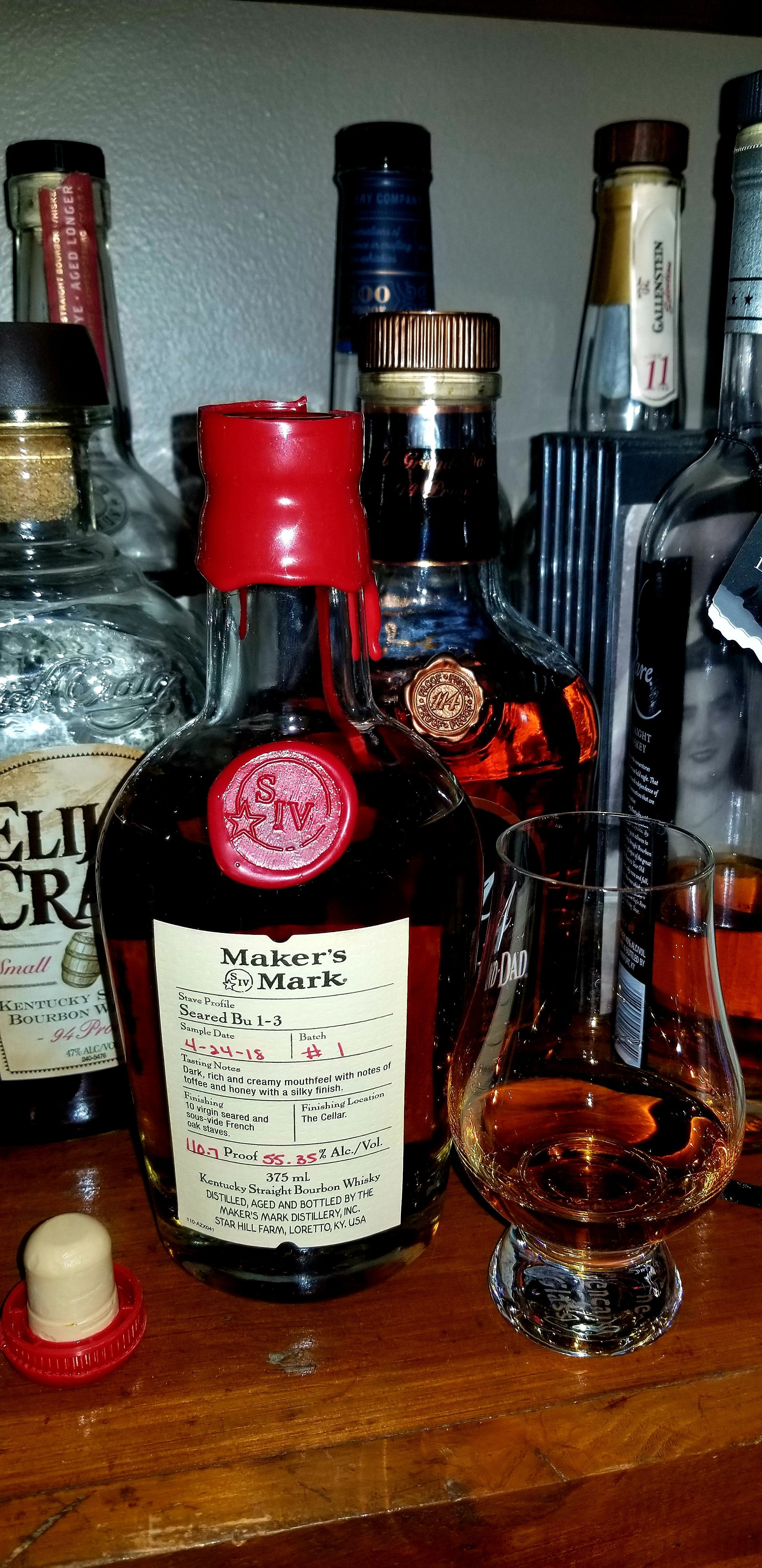 Review 93 Maker S Mark P S Seared Bu 1 3 Batch 1 Https Ift Tt 2yhn0fc Fine Wine And Spirits Makers Mark Kentucky Bourbon Whisky