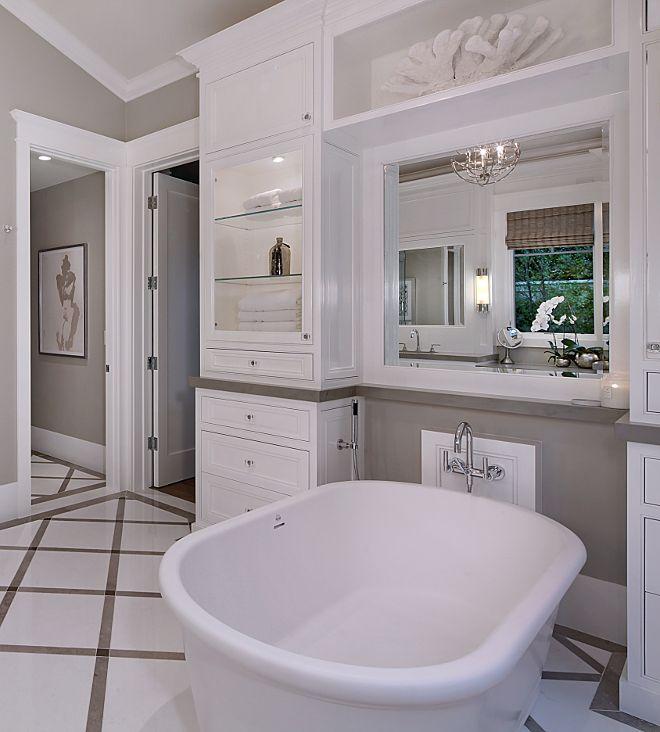 Tub Cabinet How To Add Storage In Your Bathroom By The Bathtub I Love Freestanding Bathtubs But Dream Bathrooms Bathroom Design Software Small Bathroom Tiles