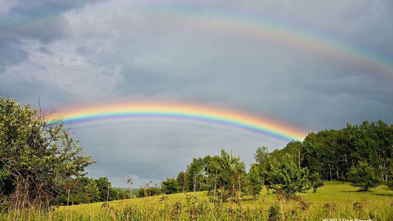 ما هو قوس قزح Country Roads Rainbow Road