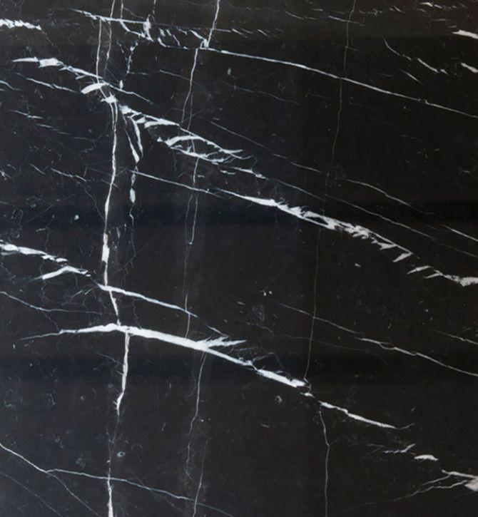 M rmol negro marquina de color negro gris ceo en su for Piso de marmol negro