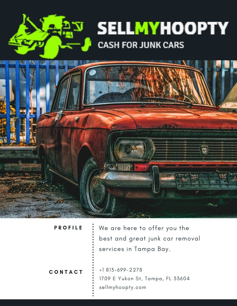 Junk Car Removal Services in Tampa One of the best junk