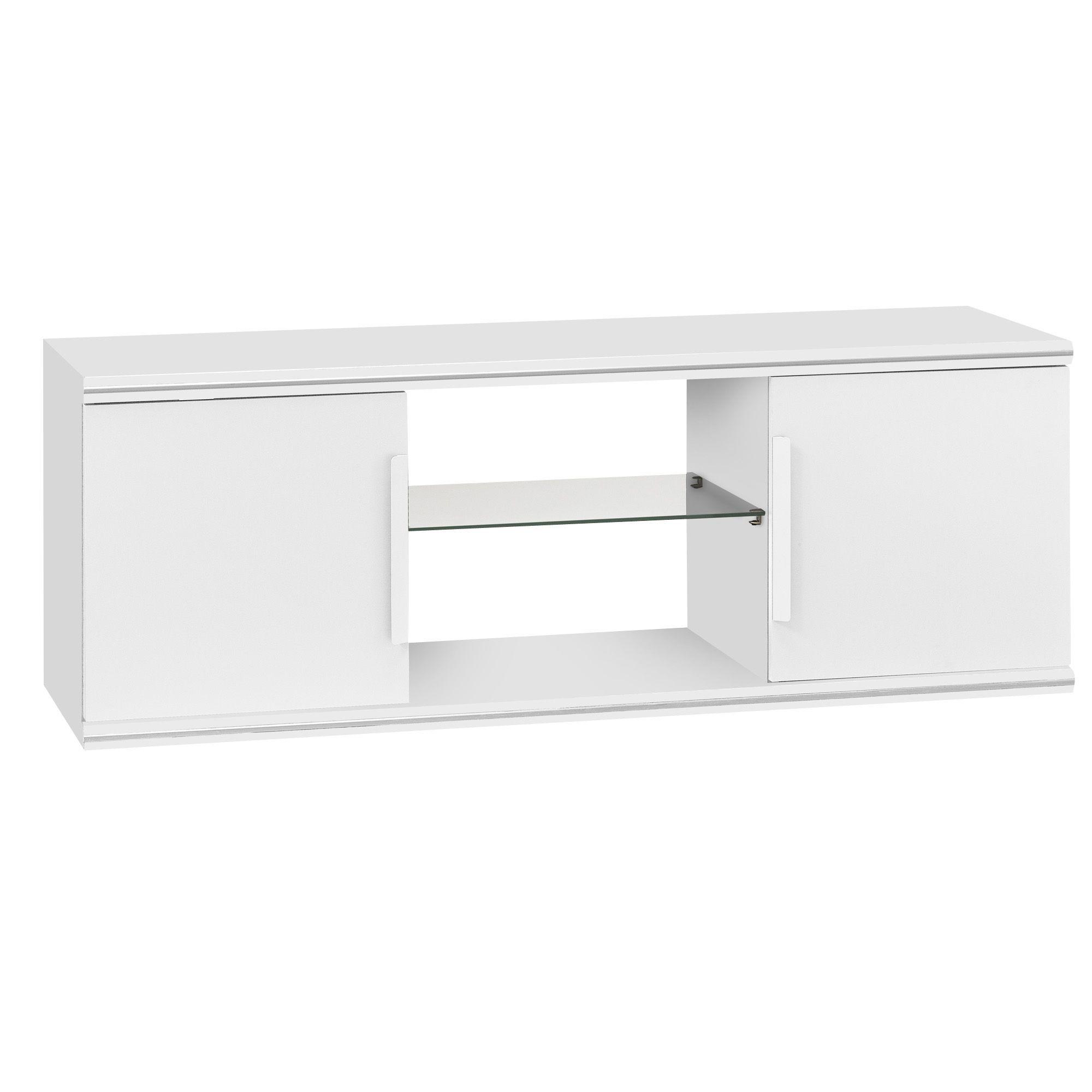 Banc Tv 2 Portes Blanc Blanc Jasper Les Meubles T L Les