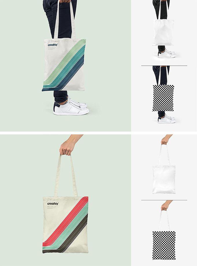 Download Tote Bag Mockup Set Bag Mockup Craft Tote Bag Tote Bag
