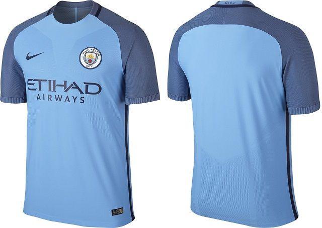 Camisas do Manchester City 2016-2017 Nike  48f678b41bdd9